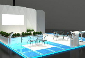 Exhibition Stand Kiosk Interior / Exterior Sample